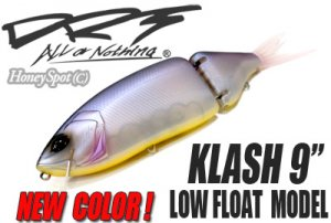 "DIVISION REBEL TACKLES/KLASH 9"" 【LOW FLOTING】【New Color】"