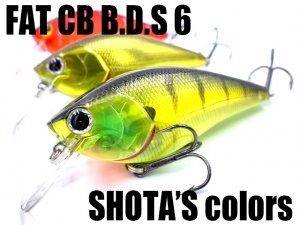 Lucky Craft USA/Fat CB B.D.S.6 【SHOTA's Color】