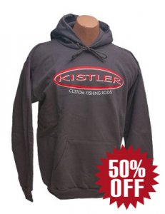 KISTLER Graphite Cold Weather Heavy Hoodie
