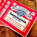 bassmania bassweiser original sticker.
