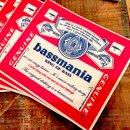 bassmania bassweiser original sticker.