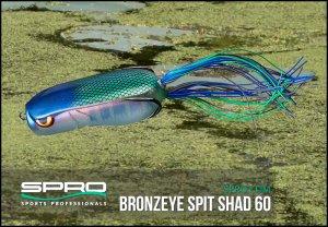 SPRO/ブロンズアイ スピットシャッド60  SPIT SHAD 60