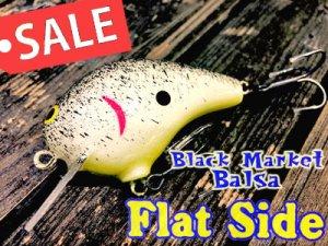 Dave's Custom Baits/Black Market Balsa Flat Side