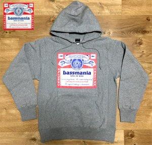 bassmania bassweiser print pullover