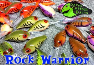 Dave's Custom Baits/Rock Warrior 【New Color】