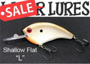 LAZER LURES/ Shallow Flat
