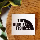 bassmania /THE NOO!! FISH sticker