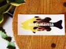 bassmania original fire bass sticker