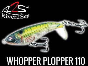 River2Sea /ホッパープロッパー Whopper Plopper 110 【silent】