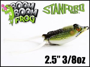 <img class='new_mark_img1' src='//img.shop-pro.jp/img/new/icons55.gif' style='border:none;display:inline;margin:0px;padding:0px;width:auto;' />STANFORDBAITS/BOOM BOOM FROG スタンフォードベイツ ブーンブーンフロッグ