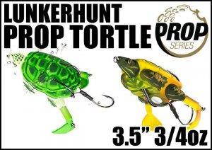 LUNKERHUNT/PROP TURTLE ランカーハント プロップタートル