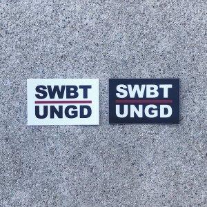 SWIMBAIT UNDERGROUND/INITIALS STICKER(メール便がオススメ)