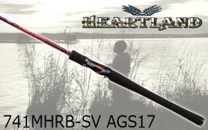 DAIWA/ハートランド AGS 741MHRB-SV AGS17 【疾風七四 MH AGS】