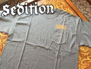 Sedition/RADIICAL FISHING 極東GENUINE POSSE 半袖ポケットTシャツ �