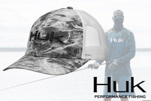 Huk Elemental Trucker Hat