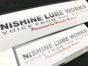 Nishine Lure Works(ニシネルアーワークス)/オリジナルステッカー