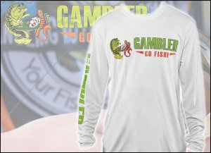GAMBLER/ドライ ロング T-shirts