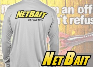 NETBAIT/ドライ ロング T-shirts 【GREY】