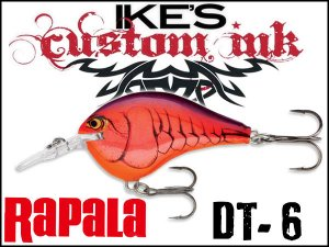 ラパラ/DT-6 【Mike Iaconelli Custom Ink】