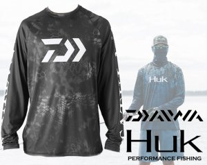 Huk × Daiwa /Tatula Performance Shirt 【2018 NEW】