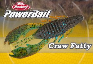 "Berkley Powerbait/Craw Fatty 4"" 【日本未発売モデル】"