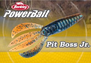 "Berkley Powerbbait/Pit Boss Jr. 3"" 【日本未発売モデル】"