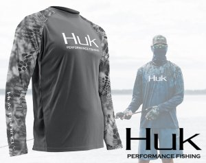 Huk Performance Kryptek Vented Long Sleeve Shirt