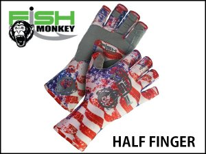 Fish Monkey Glove/HALF FINGER GLOVE