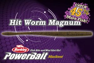 Berkley Powerbait Maxscent / Hit worm Magnum 7