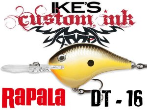 Rapala/DT-16 【Mike Iaconelli Custom Ink】