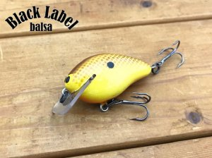 Black Label Tackle/Ricochet Squarebill Mini