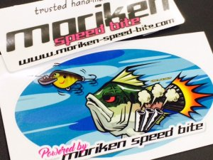 moriken speed bite/ステッカー