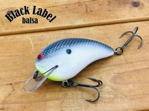 Black Label Tackle/Ricochet Squarebill Standard