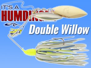 T&J Lures/HUMDINGER SPINNERBAITS 【Double Willow】