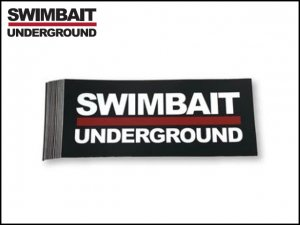 SWIMBAIT UNDERGROUND/ロゴステッカー