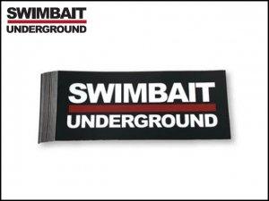 SWIMBAIT UNDERGROUND/ロゴステッカー