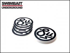SWIMBAIT UNDERGROUND/SU ラウンドロゴステッカー
