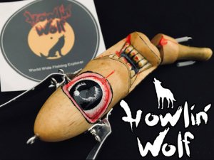 Howlin' Wolf(ハウリンウルフ)/Magnum Jointed Powler Crawler 【WooD】