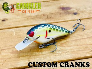 Gambler Lures/Custom Cranks