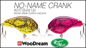 WooDream×Romanmade/NO-NAME CRANK #2/0 Buildup ver.
