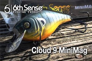 6th Sense fishing/Cloud 9 MiniMag