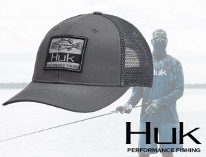 Huk Lunker Patch Trucker Hat 【2019 NEW】