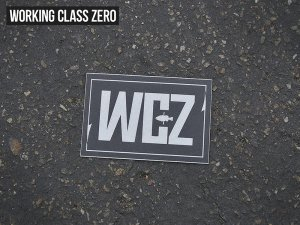 WORKING CLASS ZERO/Echo Chamber Sticker