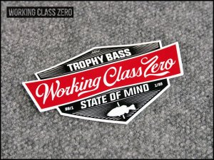WORKING CLASS ZERO/Tradition Sticker
