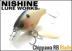 <img class='new_mark_img1' src='https://img.shop-pro.jp/img/new/icons15.gif' style='border:none;display:inline;margin:0px;padding:0px;width:auto;' />Nishine Lure Works(ニシネルアーワークス)/Chippawa RB (チッパワ)【Blade】