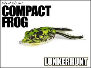<img class='new_mark_img1' src='https://img.shop-pro.jp/img/new/icons15.gif' style='border:none;display:inline;margin:0px;padding:0px;width:auto;' />LUNKERHUNT/COMPACT FROG
