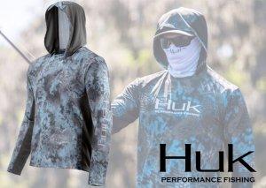 Huk X Icon Camo Hoodie【2019 NEW】(胸元プリント)