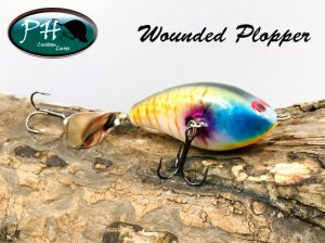 PH custom lures/ Wounded Plopper
