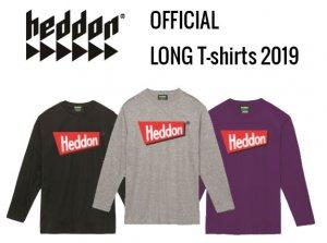 【予約販売】ヘドン/オフィシャルロング Tシャツ【10月下旬入荷予定】