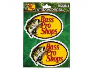 BassProShops/ウィンドウ デカール【2枚入り】
